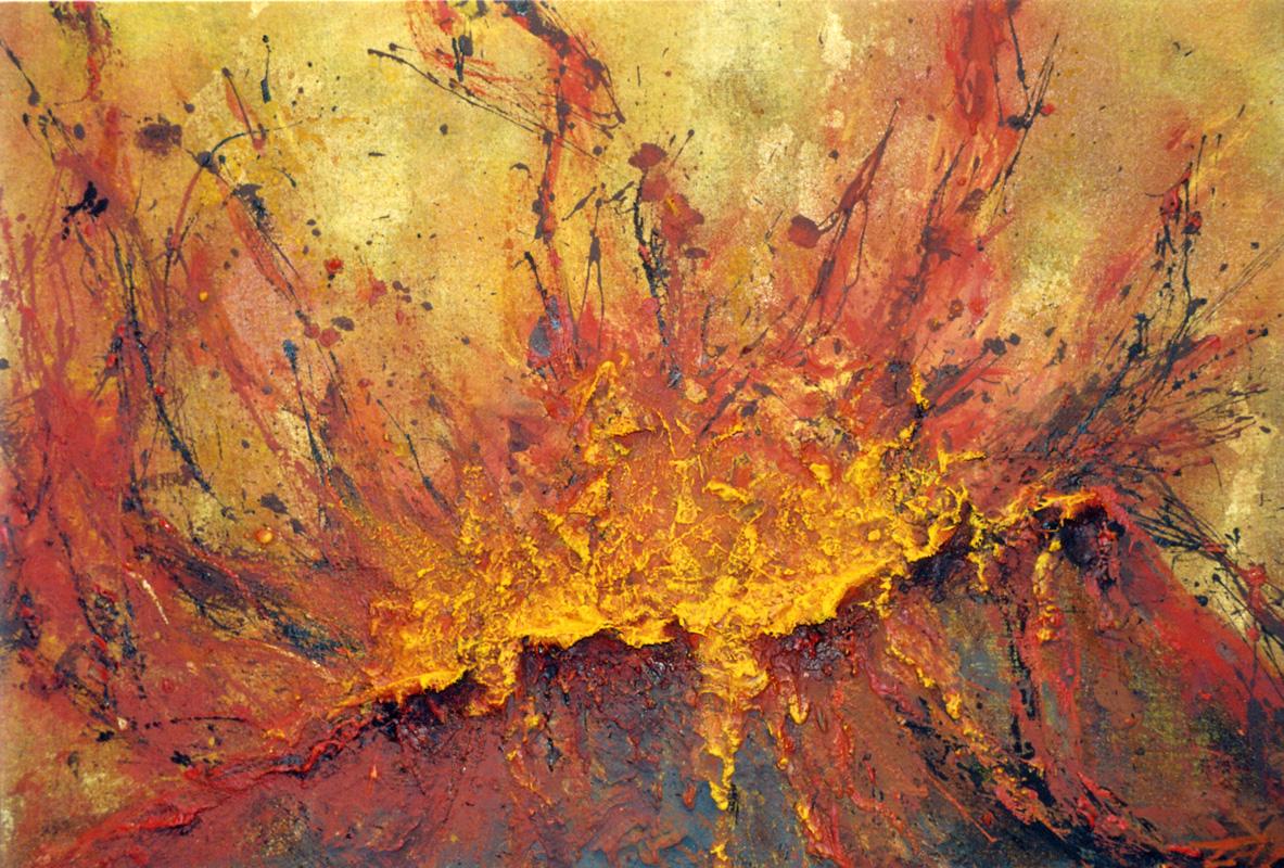 Freie malerei gemalter t raum thomas wenzel for Raumgestaltung berlin